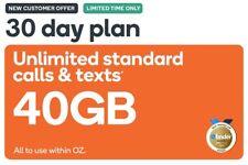Kogan Mobile SIM Card & Prepaid Voucher XL 30 Days | 40GB | NEW CUSTOMERS ONLY!