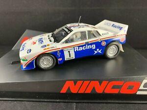 * 50655 NINCO LANCIA 037 SERVIA ROTHMANS RACING #1   1:32  SCALE SLOT CAR