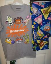Nickelodeon Rugrats Pajama Pants Lounge PJ 2 Piece Set Mens Size Large NWT