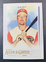 2020 Topps Allen & Ginter Baseball Sean Casey Cincinnati Reds #310