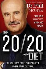 Dr.Phil McGraw The 20/20 Diet Book Hard Cover  Weight Loss