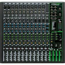 Mackie Pro FX16 v3 Mixer With Built In Effects, USB Recording Interface & Sof...