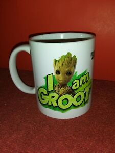 Marvel Guardians Of The Galaxy Vol. 2 I Am Groot Coffee Cup Mug Rare ceramic