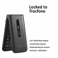 Tracfone LG Classic Flip 4G LTE Prepaid Cell Phone