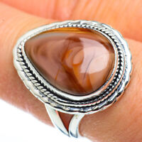 Imperial Jasper 925 Sterling Silver Ring Size 8.5 Ana Co Jewelry R45633F