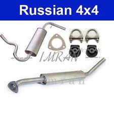 Auspuff Lada Niva 2121, Hubraum 1700ccm, Benziner