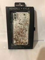 Kendall + Kylie - Dollar Sign $ Liquid Glitter Phone Case For Apple iPhone Xs X