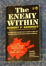 1960 THE ENEMY WITHIN ~ Robert F Kennedy ~ 1st Print Popular Library Paperback