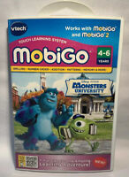 VTech MobiGo Disk Learning System Disney Monsters University 4-6 Math Spelling