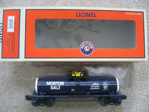 O Scale Lionel #6-26152 Morton Salt  Single Dome Tank Car