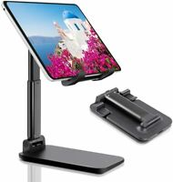 Adjustable Tablet Stand Foldable Portable for Desk Desktop Compatible with iPad