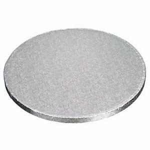"""Silver Cake Drum (Board) - Round / Square 8,9,10,11,12,13,14,15,16"""""""