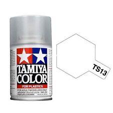 Tamiya TS-13 Gloss transparente 100ml Color Plásticos 85013 TS13 spray