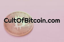 CultOfBitcoin.com / Domain / Crypto BTC Website Name / Namesilo