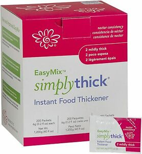 Simply Thick Easy Mix Thickener - Nectar Consistency