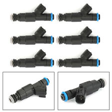 6X For Jeep Cherokee Xj 99-01 4.0L 4-Hole Upgrade Injectors Set 0280155923 AU