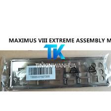 I/O SHIELD back plate BLENDE BRACKET for ASUS MAXIMUS VIII EXTREME ASSEMBLY M8E
