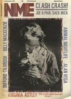 NME NEWSPAPER COVER FOR 10/9/1983 VIRGINIA ASTLEY