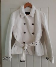 BURBERRY LONDON RP £595 SUMMER TRENCH COAT 12 10  MODERN SHORT NOVA CHECK JACKET