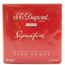 (prezzo base 199,80 €/100ml) S.T. Dupont Paris Signature pour homme 50ml EDT SPRAY