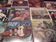 JOHN MAYALL MFSL Blues Alone LOW #D 12 TITLES 16 PIECES SEALED VINYL COLLECTION