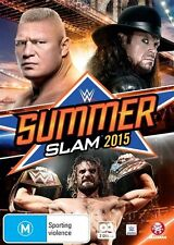 WWE: Summerslam 2015 - John Cena NEW R4 DVD