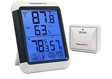 ThermoPro TP-65 Digital Wireless Hygrometer Indoor Outdoor Thermometer Wireless