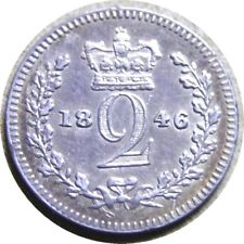 New listing elf Great Britain 2 Pence 1846 Silver Victoria Maundy