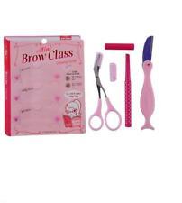 Eyebrow set Pencil Razor Scissor Stencil Trimmer 3 Shaper Shaping Shape brow kit