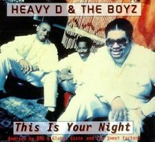 Heavy D & The Boyz This is your night (1994, UK) [Maxi-CD]