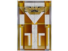 20x30 Mission Style Stained Art Glass Window Suncatcher