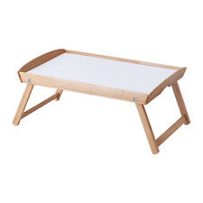 Breakfast Bed Tray Table Folding Legs Foldable Serving Serve Tea IKEA