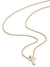 Religiöse Echtschmuck-Halsketten & -Anhänger aus Gelbgold