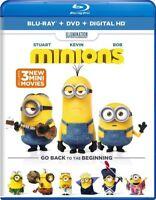 Minions [New Blu-ray] With DVD, UV/HD Digital Copy, 2 Pack, Digitally Mastered