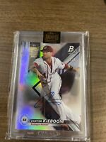 2021 TOPPS ARCHIVES SIGNATURE SERIES CARTER KIEBOOM AUTO Nationals 1/1 SSP!!!