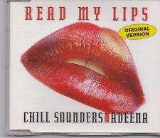 Chill Sounders feat Adeena-Read My Lips cd maxi single