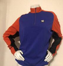 Pearl Izumi Long Sleeve Purple Technical Wear X- Large Cycling Jersey Half Zip