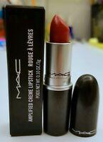 MAC Amplified Creme Lipstick BRICK-O-LA Full Size 3g / 0.1oz New In Box