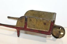 NICE VINTAGE CAST IRON WHEEL BARROW