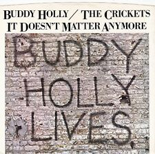 """Buddy Holly & Crickets """"It Doesn't Matter Anymore"""" 1978 NM Record & Picture Slv"""