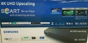 Samsung BD-J6300 4K Ultra HD 3D Smart Blu-ray & DVD Player Dual band Wi-Fi -HDMI