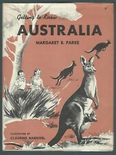 Getting To Know Australia Margaret B Parke Frederick Muller 1965 Good Condition