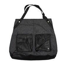 Nixon Shoulder Bag C1728 REACH OUT SATCHEL BLACK Red Gray Women's Tote *NEW*