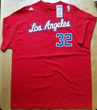 NWT Authentic Adidas Blake Griffin #32 Los Angeles Clippers Jersey T-Shirt Sz XL