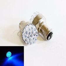 1157 2357A BA15S Super Blue Round 19 LED 2 Pc Bulb #St2 For Park Parking Light