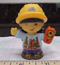 Fisher Price Little People Work Together Construction Site Girl New Style Part