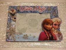 Disney, Frozen Trio Elsa Anna Olaf Picture Frame, 4x6 photo