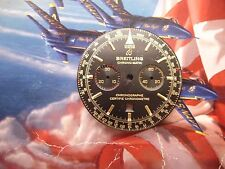 BREITLING CHRONO-MATIC/BLACK & GOLD DIAL/DATE/LUME/N/R