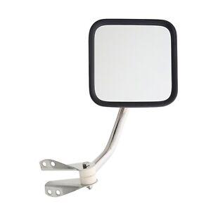Smittybilt 7417 Side Mirror Kit Fits 55-95 CJ5 CJ7 Wrangler YJ/No Drill - Pair