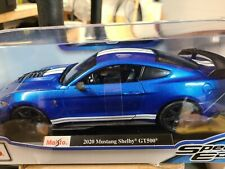 *New In Box* Maisto 2020 Ford Mustang Shelby Gt500 1:18 Special Edition
